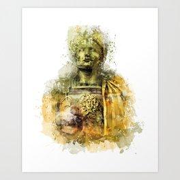 Ave Caesar, Ave Moi Art Print