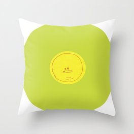Ms Snort Throw Pillow