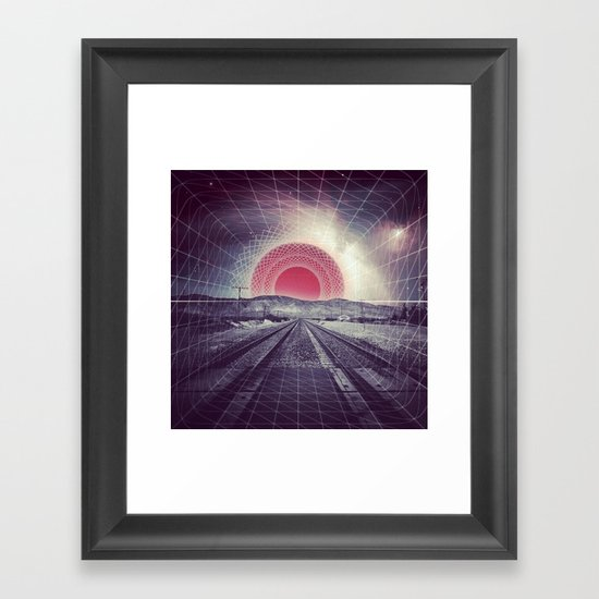 Warp Speed Framed Art Print