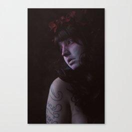 White Lies Canvas Print