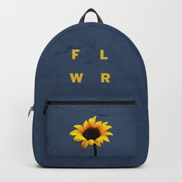 Concrete Sunflower Backpack