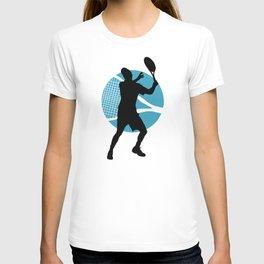 Tennis Indoor Smach Racket T-shirt