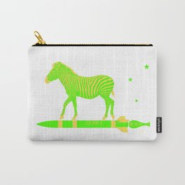Zebra Rock It 13A Carry-All Pouch