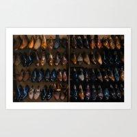 Italian Leather Shoes Art Print