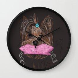 I love my Yorky Wall Clock