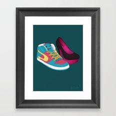 Shoe Lovin' Framed Art Print