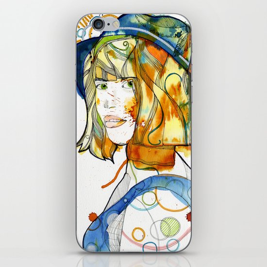 Portraits, Ann. iPhone & iPod Skin
