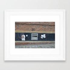 trap door birmingham Framed Art Print