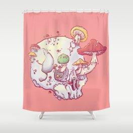 Skull No.1 // The Mushrooms One Shower Curtain