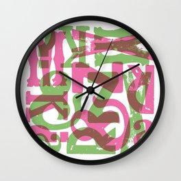 Caos Wall Clock