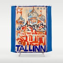 European Capital - Tallinn Shower Curtain