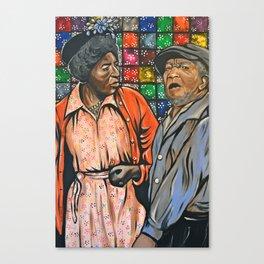 Aunt Esther vs. Fred Sanford Canvas Print