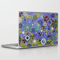 asia Laptop & iPad Skins featuring Asia Blue by gretzky