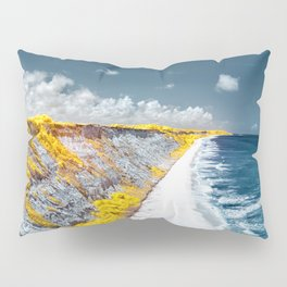 Cliff Panorama Photo Print Pillow Sham
