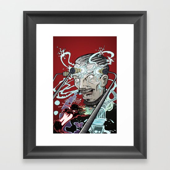 Forbidden Knowledge Framed Art Print