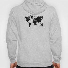 world map 94 black #worldmap #map #world Hoody