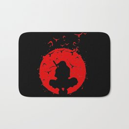 uchiha Itachi shadow Bath Mat