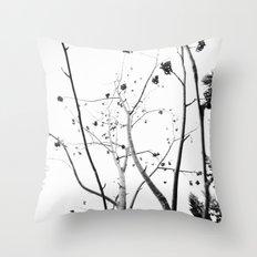 Viburnum II  Throw Pillow