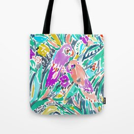 PARROT PARTY Tote Bag