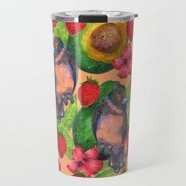 birds and avocados Travel Mug