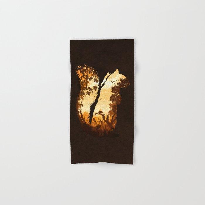 Squirrels in the Fall Hand & Bath Towel