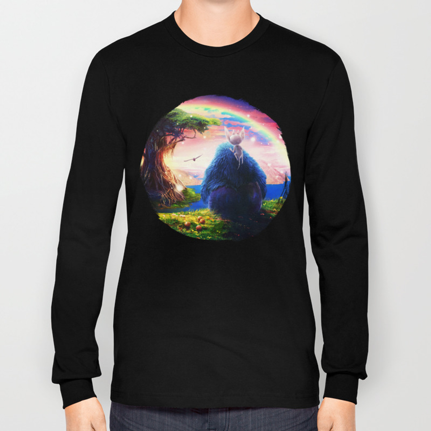 0ace0fcd Ori and the Blind Forest Long Sleeve T-shirt by ryanlaing | Society6