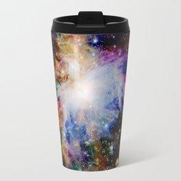 GaLaXY : Orion Nebula Dark & Colorful Travel Mug