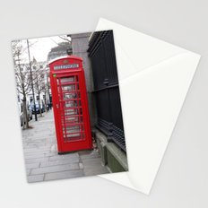 London Phone Booth Stationery Cards