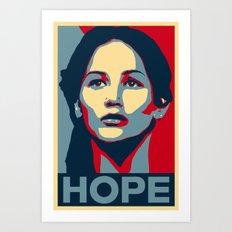 Hunger Games - Hope Art Print
