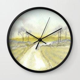 Delta Road Wall Clock