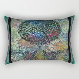 Tree of Life 2 - The Sacred Tree  Rectangular Pillow
