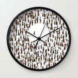 The true & amazing Gulliver's Travels Wall Clock