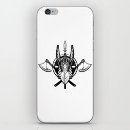 Viking Warrior | Valhalla Odin Asgard Midgard iPhone Skin