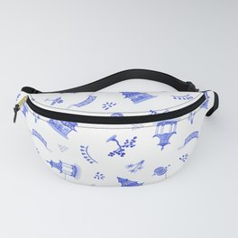 Watercolour Chinoiserie Fanny Pack