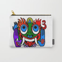 Aztec God Carry-All Pouch