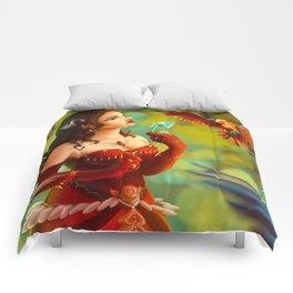 Red queen Comforters