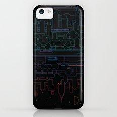 City 24 (Colour) iPhone 5c Slim Case