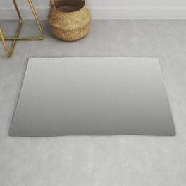 Ghost White and Black Deadly Ombre Nightshade Rug