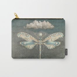 Dragonfly of the moon Carry-All Pouch