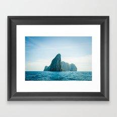 Island 2 Framed Art Print