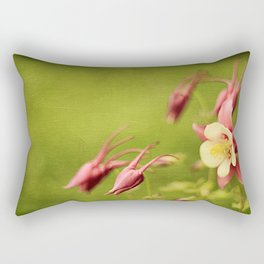 Columbine in Bloom Rectangular Pillow