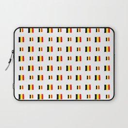 Flag of belgium 8 handmade Laptop Sleeve