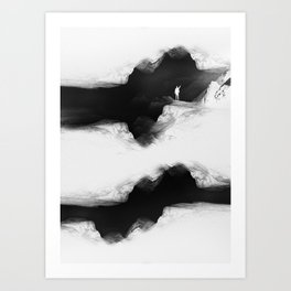 Hello from the The White World Art Print