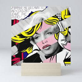 "Roy Lichtenstein's ""M-Maybe"" & M.M. Mini Art Print"