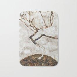 Egon Schiele - Small Tree In Late Autumn Bath Mat