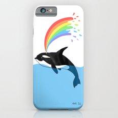 Killer Whale Blows Rainbow Slim Case iPhone 6s