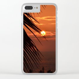 That's a Sunset Clear iPhone Case