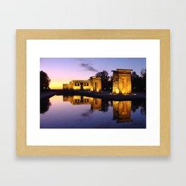 Temple of Debod (Madrid) Framed Art Print