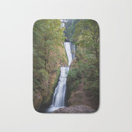 Bridal Veil Falls - Columbia River Gorge, Oregon Bath Mat
