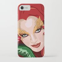 poison ivy iPhone & iPod Cases featuring Poison Ivy  by Jordi Hayman Design